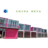 Hotel Use Luxury Double Storey Prefab Houses Prebuilt Container Home Strong Frame