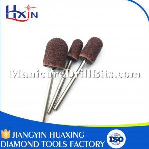 Round Type Dremel Tool Sanding Bits , Rotary Sanding Bits 12mm Head Diameter