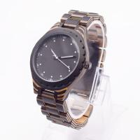China Skateboard 45mm Waterproof Wood Watch For Men 3ATM Quartz Chinese Movement on sale