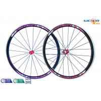 China Glossy Surface Alloy 6061 T6 Aluminum Bicycle Wheels , 12 Inch to 22 Inch on sale