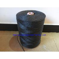 Buy cheap Submarine Armouring Cable Filler Material Splityarn Black Color 2mm - 3mm Diameter product