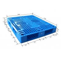 Buy cheap Collapsible Industrial Plastic Heavy Duty Pallets For Forklift / Warehouse Use product