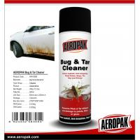 Buy cheap AEROPAK 500ML aerosol spray can Bug and Tar Cleaner for cleaning product