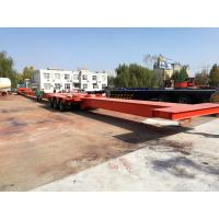 Quality TITAN Extendible Extendable Semi Trailer for Carrying Wind Blade for sale