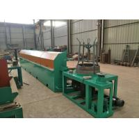 Buy cheap High Carbon Steel Fine Wire Drawing Machine , 380 V 11KW Automatic Wire Drawing Machine product