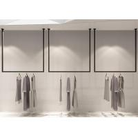 Buy cheap Pensile Style Clothing Display Rack , Retail Store Fixtures Iron Baking Material from wholesalers