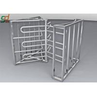 Quality Full Height Turnstile Security Systems, Double Way Access Control Turnstiles for sale