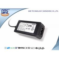 Buy cheap 24W Desktop Switching Power Supply Black Color 15V With AC / DC Cable product