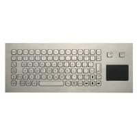 85 Keys Washable Ruggedized Keyboard , Stainless Steel Keyboard With Touchpad
