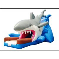 Buy cheap Large Giant Commercial Shark Bouncy Castle with Slide for Kids Shark Inflatable Bouncy Playground product