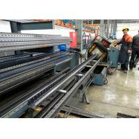 Buy cheap Warehouse Storage Racks Upright Teardrop Frames Roll Forming Machine product