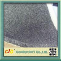 Buy cheap Grey Flame Retardant Carpet Fabric , Polyester Bonding Brushed Carpet for Indoor or Outdoor product