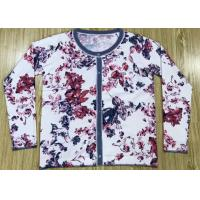 Buy cheap Reactive Flowers Print Womens Knit Cardigan Sweater Manufacturer In China OEM from wholesalers