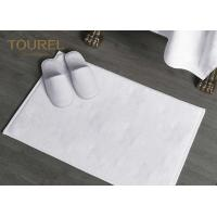 Buy cheap Cotton Jacquard Hotel Bath Mats Carpet For 4 Or 5 Star Hotel product