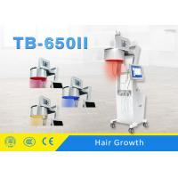 Buy cheap LED Light Color Touch Sreen Three Wavelength Diode Laser Hair Loss Treatment Machine product