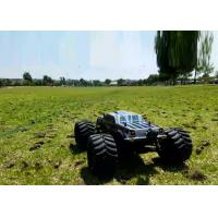 Brushless Electric RC Monster Truck Remote Control With Metal Chassis