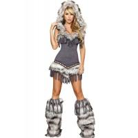Buy cheap Womens Captain California adult halloween costumes , Indian fancy dress costumes product