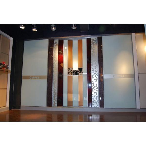 Curtains Ideas single stall shower curtain : Single frameless glass sliding doors (UNIKGLASS / POCKETGLASS ...