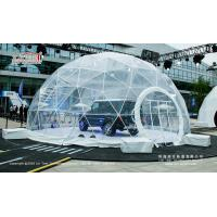 Buy cheap Transparent PVC Cover Geodesic Dome Tents For Wedding / Party 100 - 10000 People product