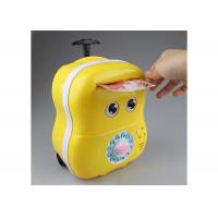 Buy cheap Lovey Electric Smart Money Saving Box Trolley With Music For Kids Cartoon Style product