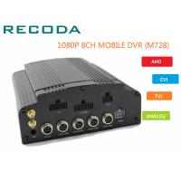 Buy cheap 8 Channel 1080p full hd  Car DVR with GPS tracking 4G WIFI for car CCTV system from wholesalers