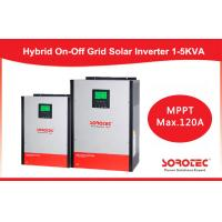 Buy cheap Hybrid On / off grid solar inverter 2kva 2000w with 80A MPPT Controller product