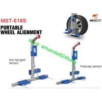 Buy cheap integrated sensors and clamps type four wheel aligner MST-618S product