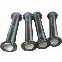 Buy cheap Two Ends Flanged 100mm Ductile Iron Pipe Internal Cement Lining External Zinc product