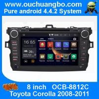 Buy cheap Ouchuangbo Car DVD Stereo System for Toyota Corolla 2008-2011 Android 4.4 3G Wifi BT Audio product