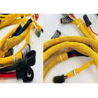 Buy cheap Logo Printing PET Expandable Braided Sleeving For Automobile Wires Protection product
