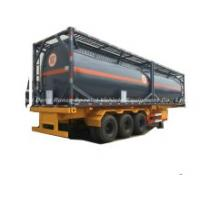 Naoh ISO Tank Lined LLDPE (20FT 21000 Liter, 40FT 40000 Liter) Hydrogen Peroxide 30% Hydrofluoric Acid 48% Storage and Road Transport