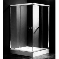 Buy cheap Single Rectangular Shower Cubicles , 1000 X 800 Two Sided Glass Shower Enclosure product
