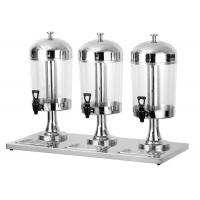 Buy cheap 8L Per Tank Catering Buffet Equipment  Ice - Cold Style Stainless Steel Drink Dispenser product