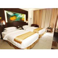 Buy cheap Wooden Modern Hotel Bedroom Furniture , King Size Bedroom Suite product