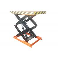 Buy cheap 1000kg Stationary Scissor Lift Table With Max Lift Height 1000mm 1.5kw Power product