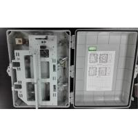 China 32 Core Plastic  Optical Fiber Distribution Box Outdoor Or Inddor Wall Mounted on sale