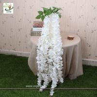 Buy cheap UVG Artificial Flower Making Hanging Wisteria Flowers Manufacturer Wedding Decoration product