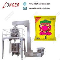 China Full automatic chips snack packing machine,hot selling granules packing machine on sale