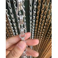 Buy cheap Aluminum Alloy Metal Chain Link Curtain 1.6mm And 2.0mm Wire Diameter from wholesalers
