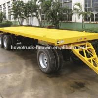 Buy cheap Customized Size Lowboy Semi Trailer , Larger Capacity Low Bed Truck product