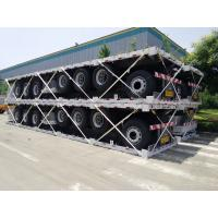 China 12000usd only! 40 ft flat bed semi trailer for sale on sale