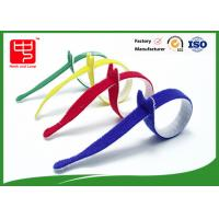 Buy cheap Multi Colored Velcro Cable Ties Roll , Hook & Loop Fastening Cable Ties T Shape product