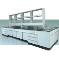 Buy cheap Customized Wooden Laboratory Furniture All Wood Workbench / Science Workstations product