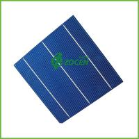 China Blue 3 Busbar Photovoltaic Polycrystalline Solar Cells , 156*156mm 3BB on sale