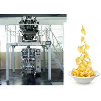 China Chips /  Snacks / PE Sachet Packing Machine With Back Sealing , CE ISO ROHS on sale