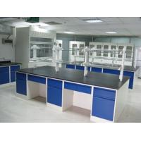 Buy cheap Usable Wood Workbench Laboratory Furniture Floor Mounted All Wood Lab Bench product