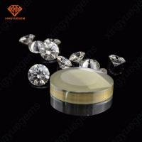 Buy cheap High purity vvs clear white moissanite rough raw material 1 carat moissanite from wholesalers