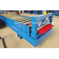 Buy cheap Galvanized Steel Wall Panel Roll Forming Machine / Equipment With Low Consume product