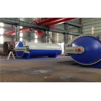 Buy cheap Pneumatic Laminated Vulcanizing Autoclave , Pressure In Autoclave By PLC Controller product