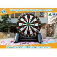 Buy cheap 4MH Single Side Inflatable Score Board Inflatable Football Game For Human from wholesalers